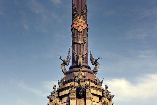 Columbus monument fragment