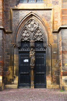 door of chapel
