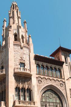 Catholic Building in Barcelona
