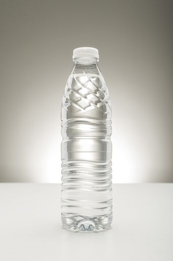 Bottle of pure fresh water