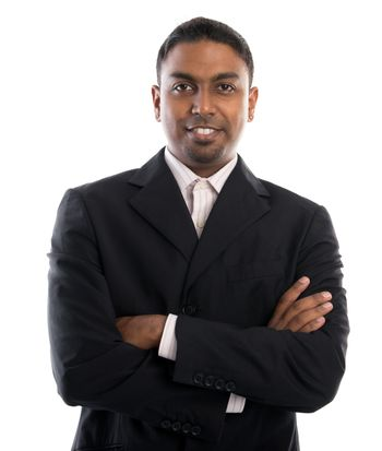 Good looking 30s Indian male