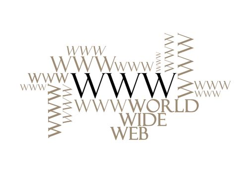 WWW word concept