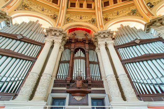 National Art Museum interior and organ