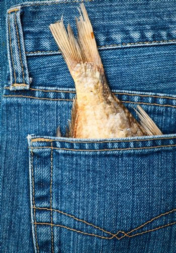Fishtail in a pocket