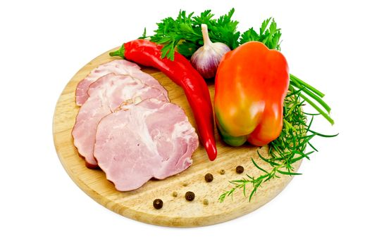 Delicacy pork with pepper