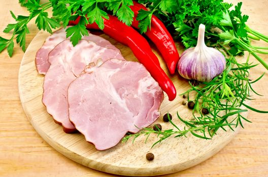 Delicacy pork with vegetables