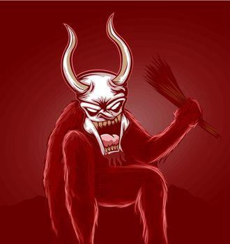 Krampus Devil