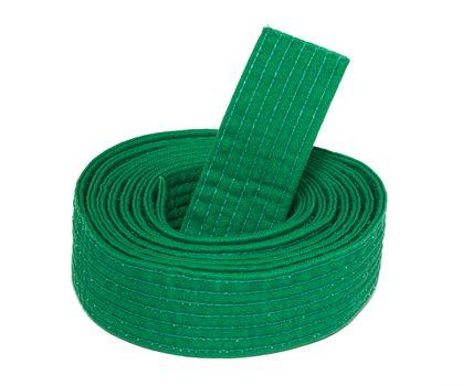 Coiled Karate Green Belt