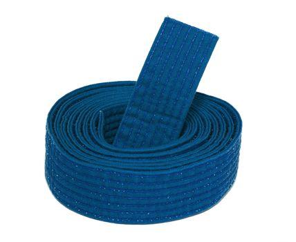 Coiled Karate Blue Belt