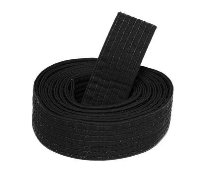 Coiled Karate Black Belt