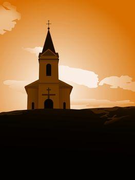 sunset chapel