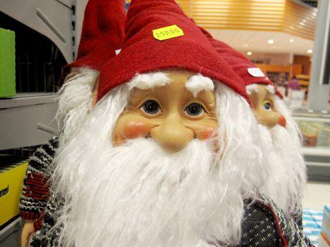 Red christmas gnome