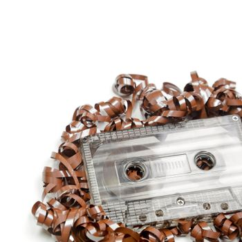 Audio cassette background