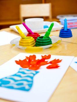 Childrens creativity concept