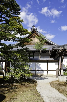 Nijo Castle residence of shogun, kyoto, japan