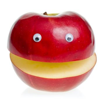 Red Apple Character