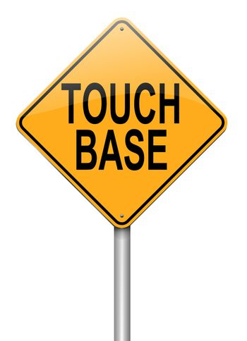 Touch base concept.