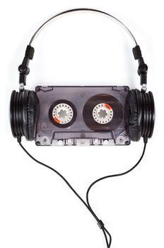 Headphones on Compact Cassette