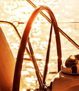 Sailboat helm