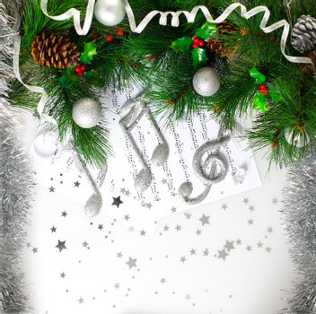 Xmas musical symbol