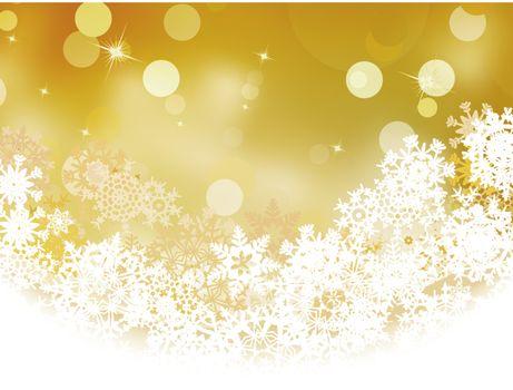 Christmas holiday defocus lights. EPS 8