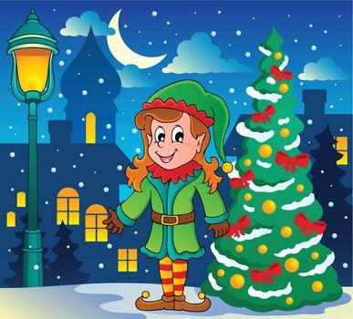 Christmas elf theme 6