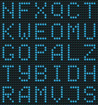 Seamless Alphabet Background or Wallpaper