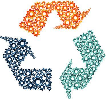 Environment machine collaboration concept