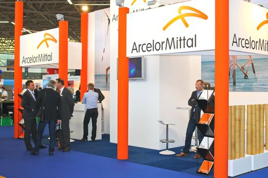 The exhibition Offshore Energy 2012. Amsterdam. Netherlands