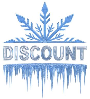 label for sales with discounts