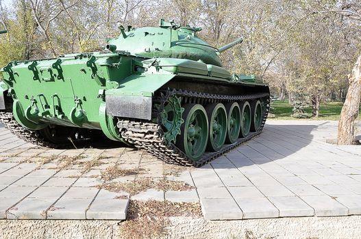 A Russian T54 tank