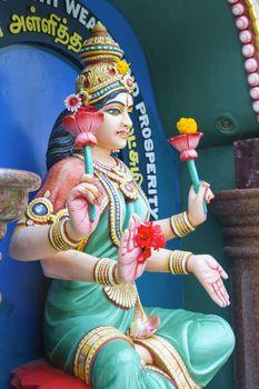 Maha Luxmi Hindu Goddess