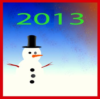 Happy New Year 2013 Background