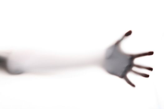 scary hand