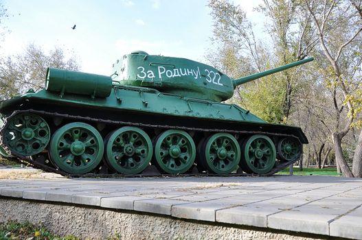 Soviet tank T34