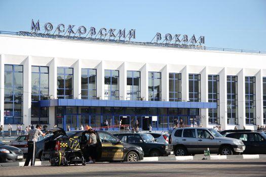 Railway Station in Nizhny Novgorod