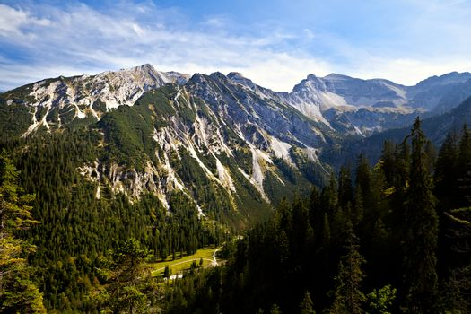 beautiful Alps in Germany
