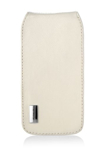 Beige case for mobile phone