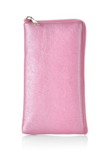 Pink case for mobile phone