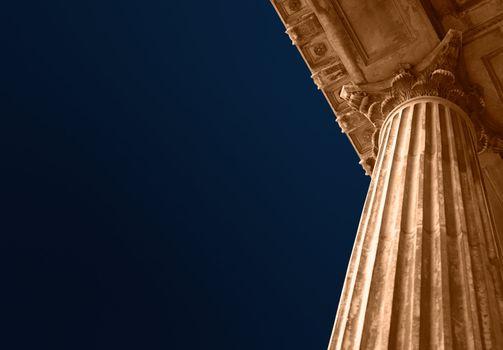 Education or court columns