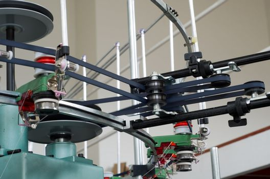 Textile weaving manufacture machine
