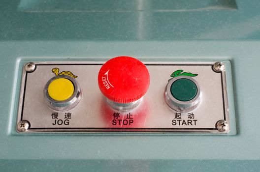 Industrrial control buttons