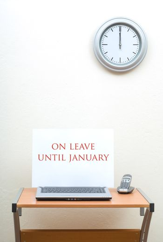 On leave until January