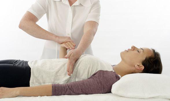 Kinesiologist test indicator muscle