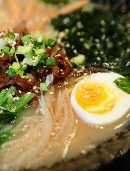 Ramen Noodles , Japanese Food