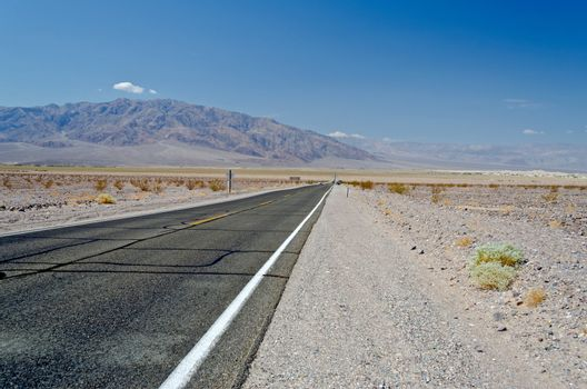 Desolated Road, Death Valley, California