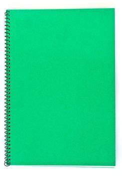 Spiral Green Notebook
