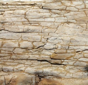 Closeup picture of a sandstone texture.