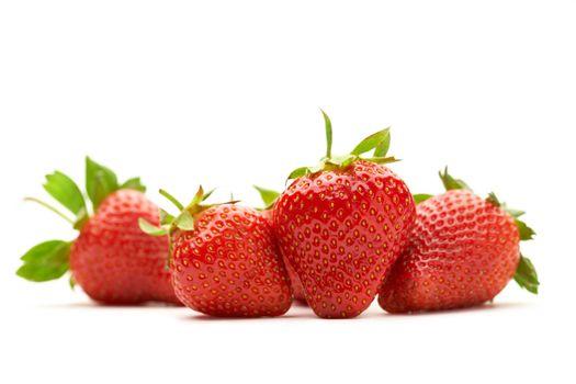 Fresh Ripe Perfect Strawberries