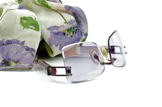 Spectacles and Scarf
